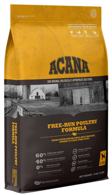 ACANA Heritage Poultry Flavored Dog Food