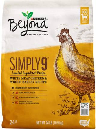 Purina Beyond Simply 9 White Meat Chicken Dog Food