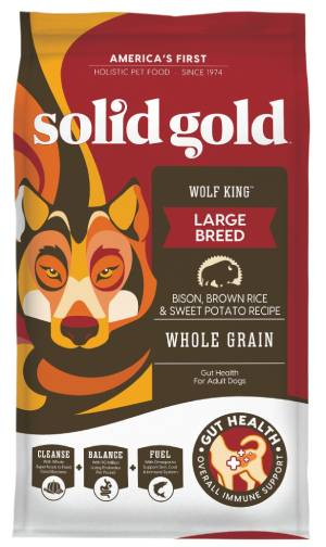 Solid Gold Wolf King Bison Dog Food